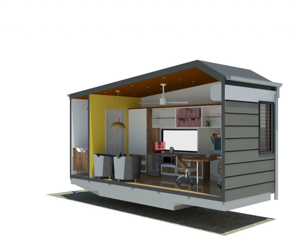 Tiny Office on Wheels - eXecutive
