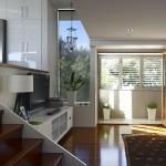 Modern Queenslander split level living