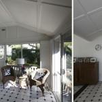 Enclosed verandah, Seven Hills renovation